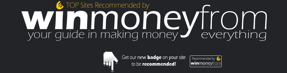 Recommended by WinMoneyFrom.com